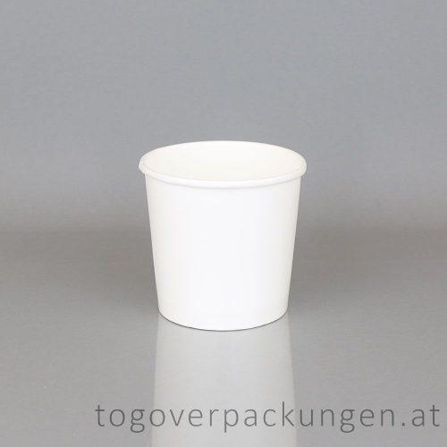 Eisbecher 300 ml weiß /50 Stück (stg)
