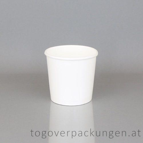 Eisbecher 500 ml weiß /50 Stück (stg)