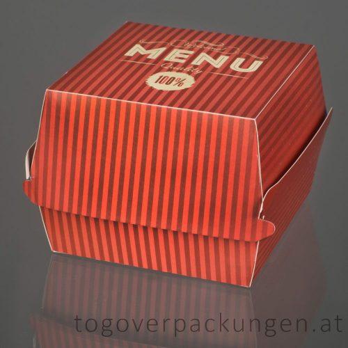 Burgerbox mit Klappdeckel XL  /50 Stück