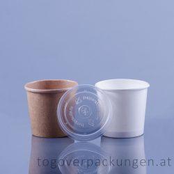 Eisbecher Plastikdeckel (300 ml) /50 Stück