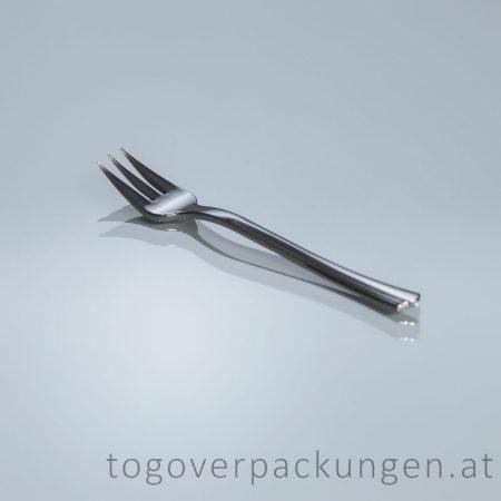 Dessertgabel - prämie, metalleffekt/ 40 Stück