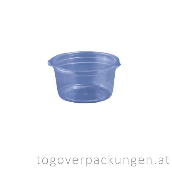 Dressingbecher mit Deckel, 80 ml / 100 Stück