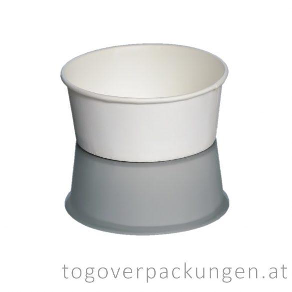Eisbecher, 350 ml, weiß / 30 Stück