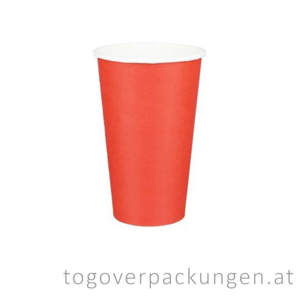 "Pappbecher ""Red"", 340 ml / 50 Stück"