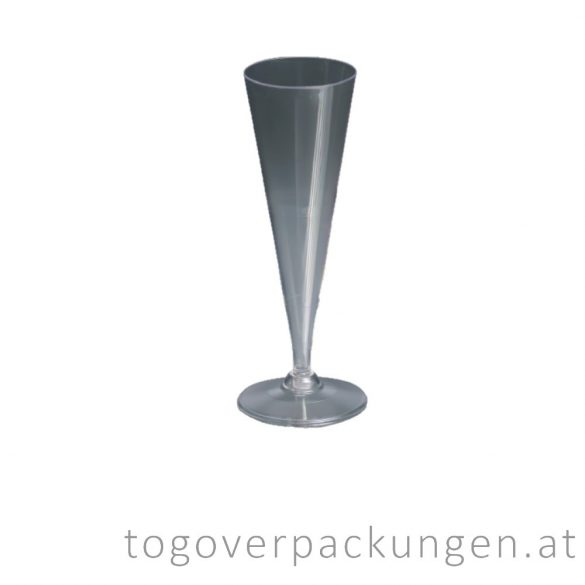 Plastikbecher - champagner / 10 Stück