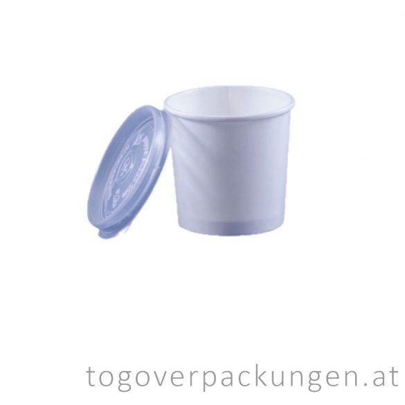 Plastikdeckel für Suppenbecher, PP, 115 mm / 50 Stück