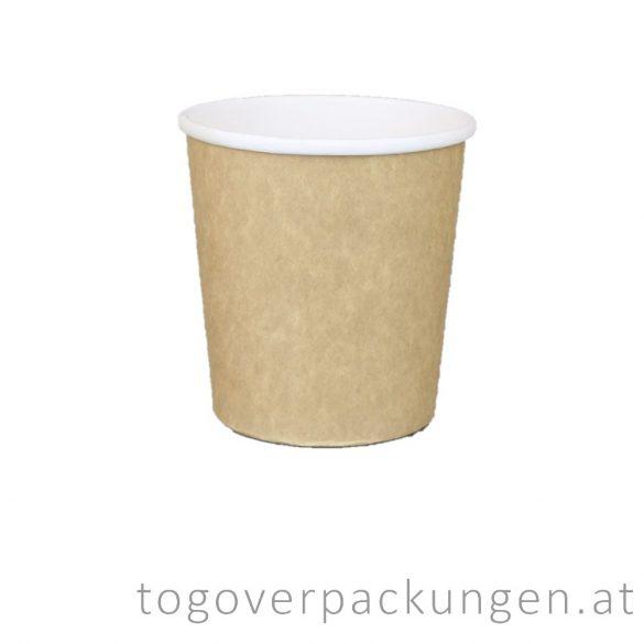 """Soup-To-Go"" Suppenbecher, 500 ml, braun-weiß / 50 Stück"