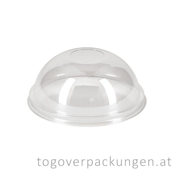 Domdeckel für Shake-Becher ohne Loch / 50 Stück