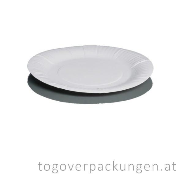Pappschalen - rund, 230 mm / 250 Stück