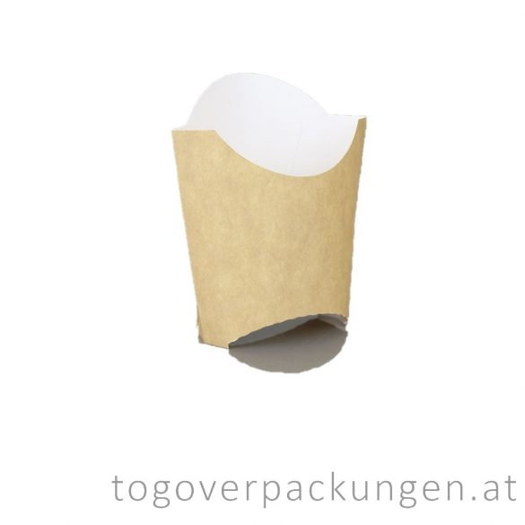 Pommes- Schütte, klein / 50 Stück