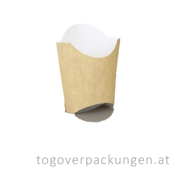 Pommes- Schütte, groß / 50 Stück