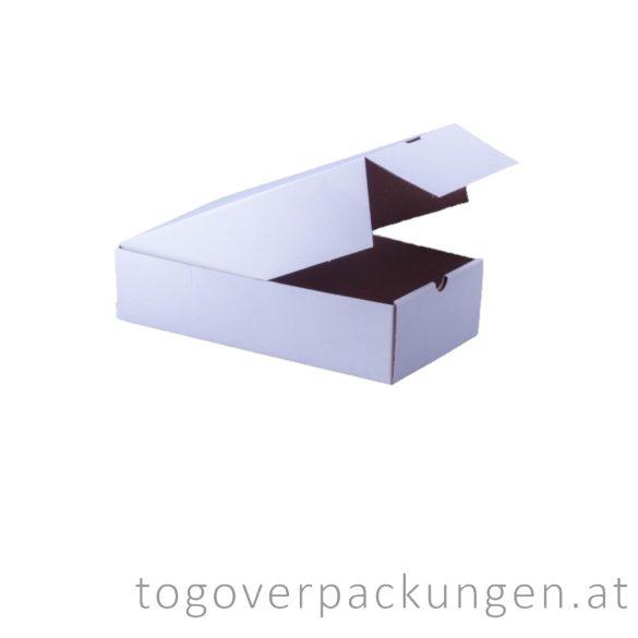 Kuchenbox, 170 x 310 x 80 mm, weiß / 1 Stück