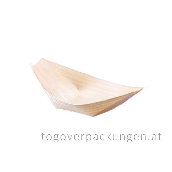 Schale - Bambus-Schiff, 115 mm / 100 Stück