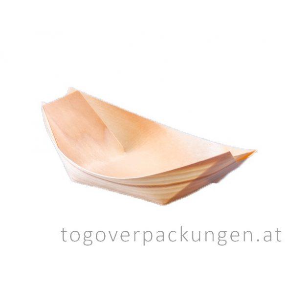 Schale - Bambus-Schiff, 145 mm / 100 Stück