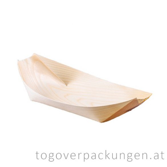 Schale - Bambus-Schiff, 190 mm / 100 Stück