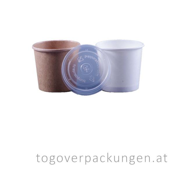 Plastikdeckel für Suppenbecher, 115 mm / 50 Stück