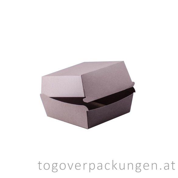 Burgerbox mit Klappdeckel, XXL, Kraft / 50 Stück