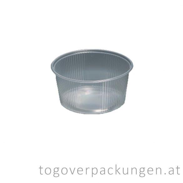 Hagner runde Plastikbox, 250 ml / 100 Stück