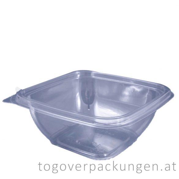 Verpackungsbox - quadratisch, 120 x 120 mm, 500 ml, transparent / 50 Stück