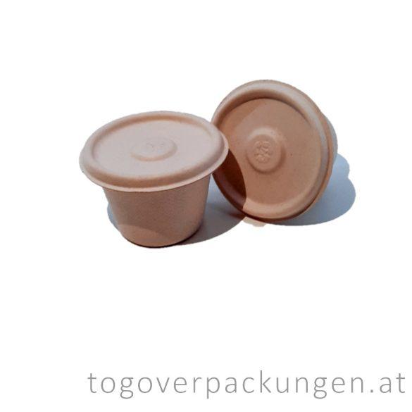 """Deckel für Dressingbecher """"CoBio"""", 60 ml / 50 Stück"""