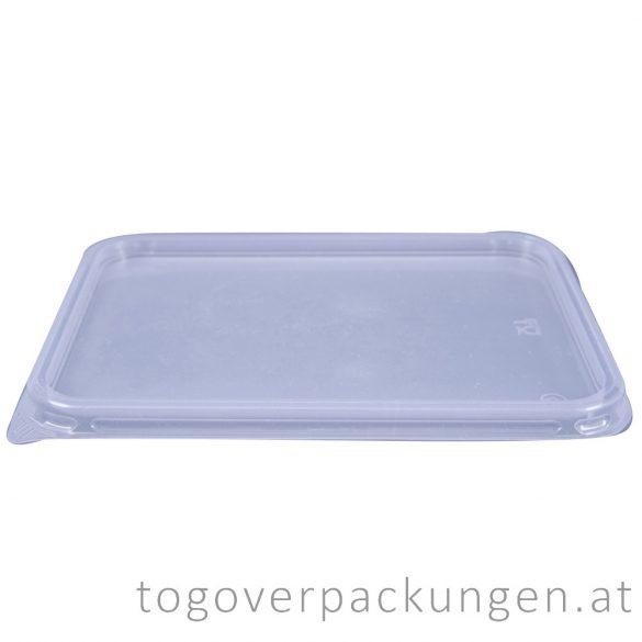 Deckel für Verpackungsbox - eckig, PP / 50 Stück
