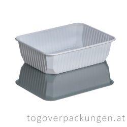 EXTRA STARK Verpackungsbox - eckig, 750 ml, PP, weiß / 50 Stück