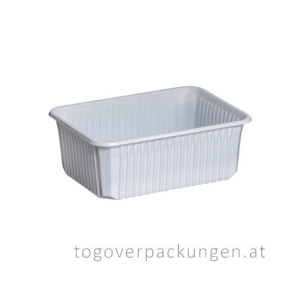 STRONG Verpackungsbox - eckig, 1000 ml, PP, weiß / 50 Stück