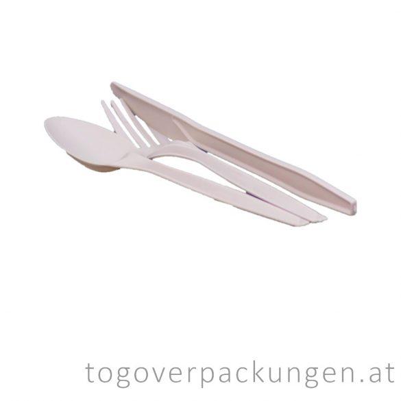 CPLA Gabel, 17 cm / 100 Stück