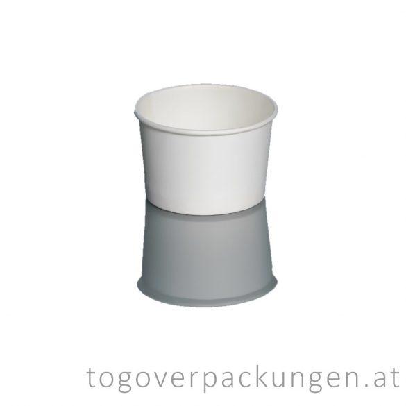 Eisbecher - 160 ml, weiß / 25 Stück