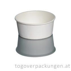 Eisbecher - 350 ml, weiß / 30 Stück