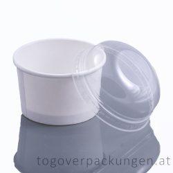 Domdeckel für Eisbecher, 130 ml / 50 Stück