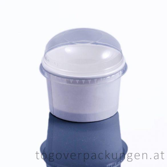 Domdeckel für Eisbecher, 245 ml / 50 Stück