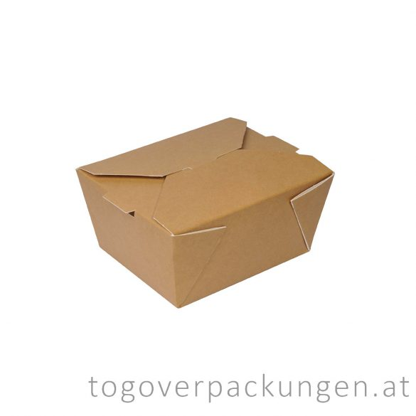 "Food Box - Premium - ""BERLIN"", 1320 ml / 45 oz / 50 Stück"