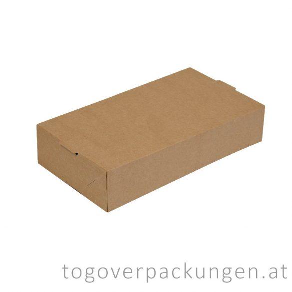 "Grill Box - OSLO ""PORTION"" - Kraft, 1750 ml / 400 Stück"