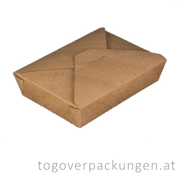"Food Box - Premium - ""LUNCH BOX"" 1950 ml / 66 oz / 50 Stück"