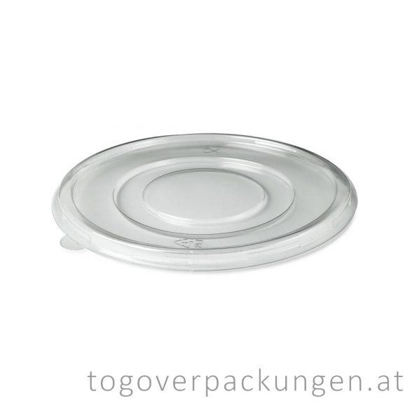 """Deckel für Zuckerrohr-Suppenteller """"FIBER"""", 950 ml / 100 Stück"""