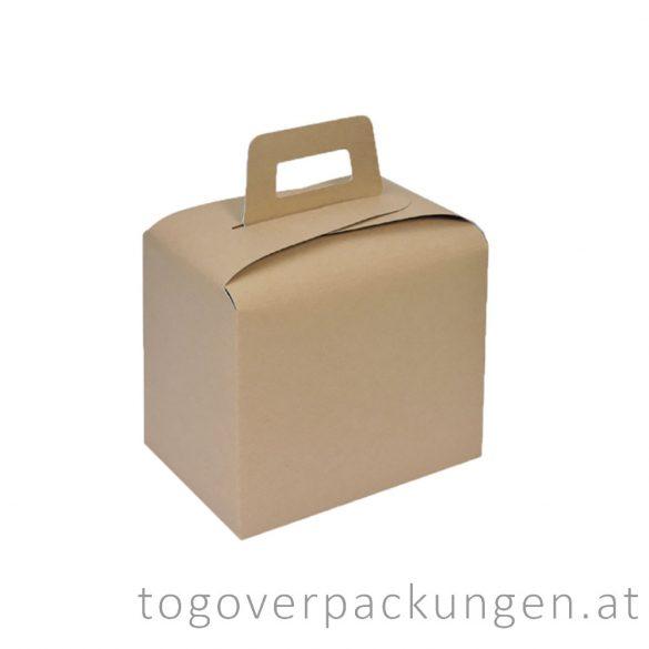 Lunchbox TO-GO, Kraft, 3600 ml / 350 Stück