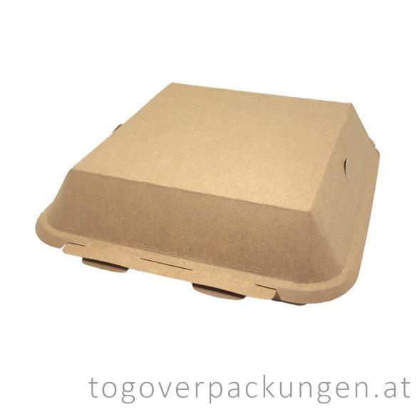 BP4 Kraft-Menübox, 205 x 205 x 80 mm / 50 Stück