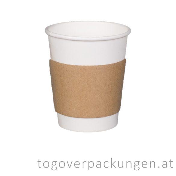 Papier-Ring für 300+ ml Becher / 50 Stück