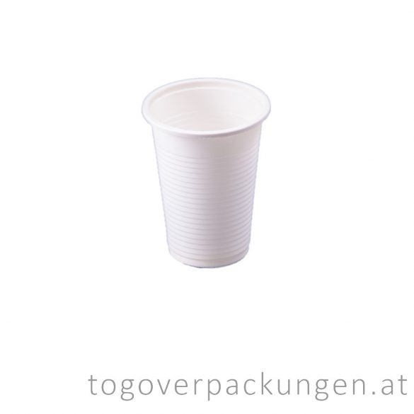 Bio CPLA Becher, 100 ml / 50 stück