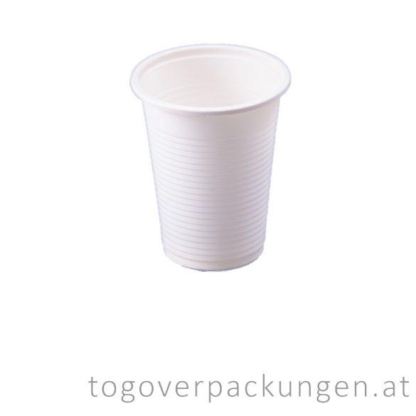 Bio CPLA Becher, 220 ml / 50 stück