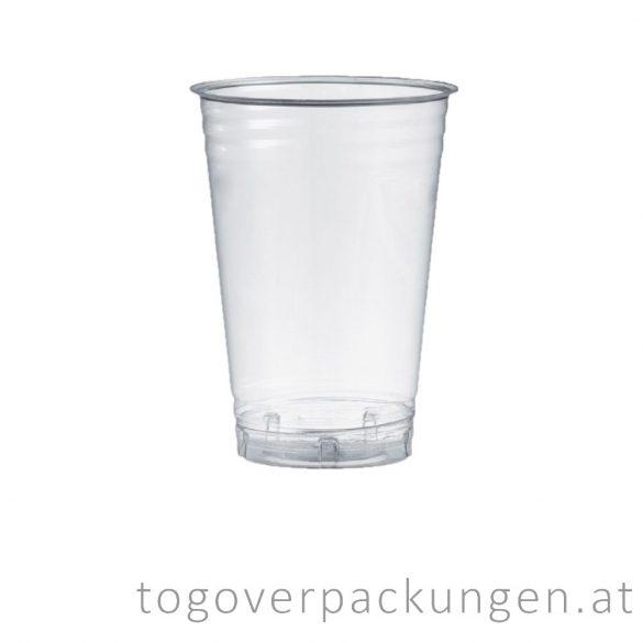 PLA Shake-Becher, 400 ml / 50 Stück