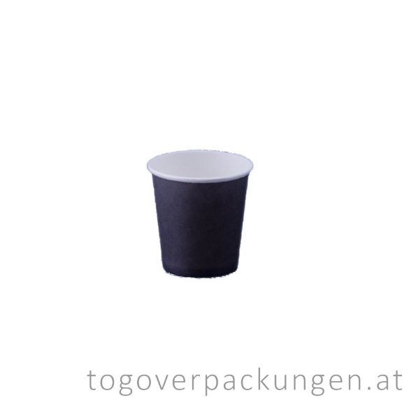 "Pappbecher ""Black"", 100 ml / 50 Stück"