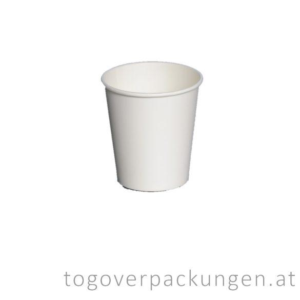 Pappbecher, weiß, 150 ml / 80 Stück
