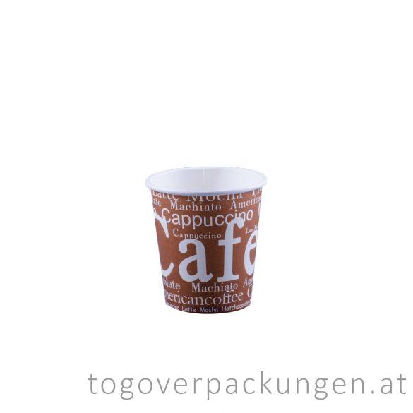 """Pappbecher """"Cafe"""", 180 ml / 50 Stück"""
