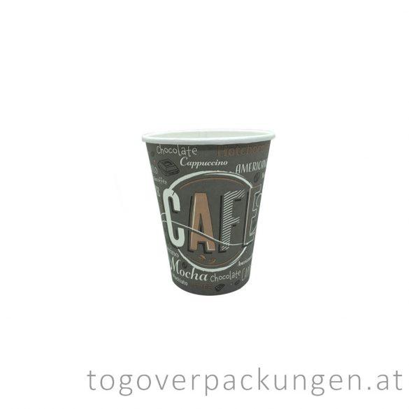 "Pappbecher ""COFFEE NEW"", 180 ml, 70 mm / 50 Stück"
