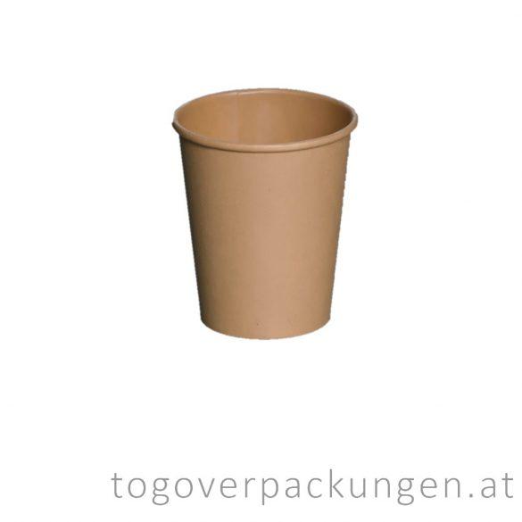 "Pappbecher ""Öko"", 220 ml / 100 Stück"