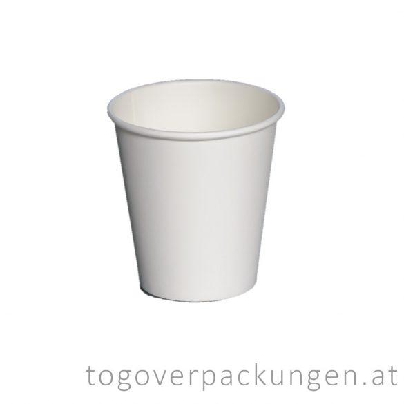 Pappbecher, weiß, 300 ml / 50 Stück