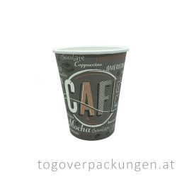 "Pappbecher ""COFFEE NEW"", 340 ml / 50 Stück"