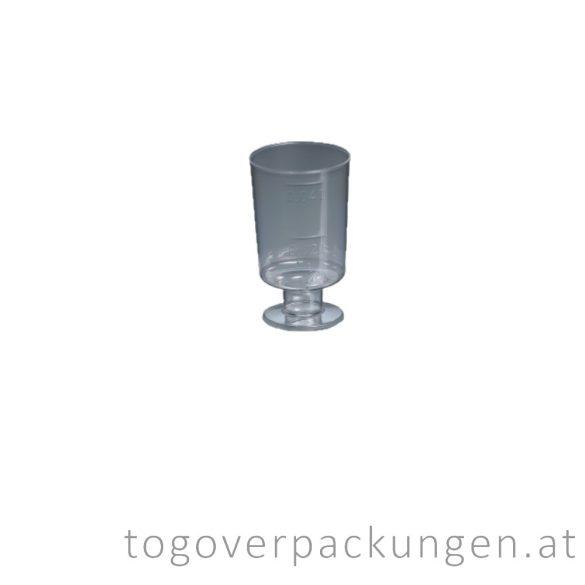Plastikbecher - Snaps, 20-40 ml, transparent / 20 Stück